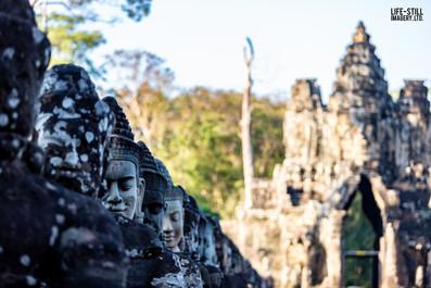 """""""The Guardians"""" Angkor Wat, Cambodia (2018)"""