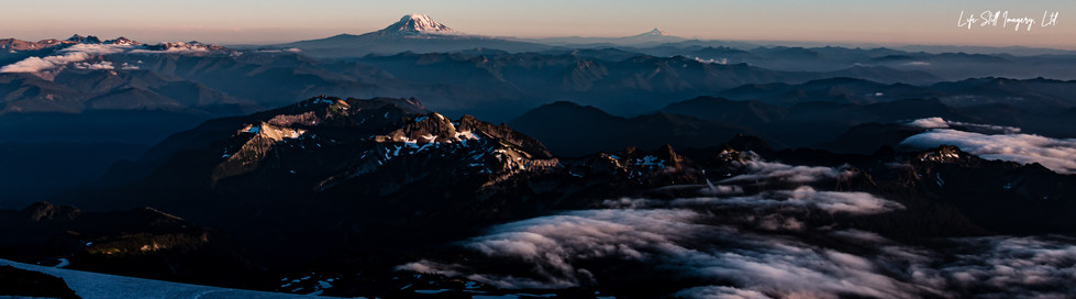 """Muir Camp View"" Mt. Rainier Natl. Park, Washington (2016)"