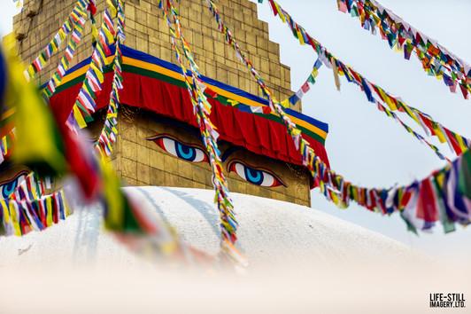 """The Eyes of Enlightenment"" Kathmandu, Nepal (2019)"