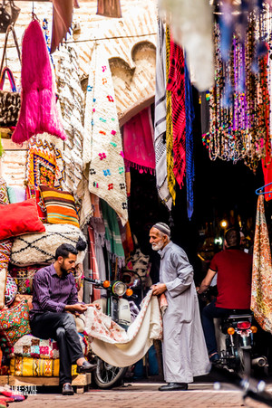 """""""In the Souk"""" Marrakech, Morocco (2017)"""