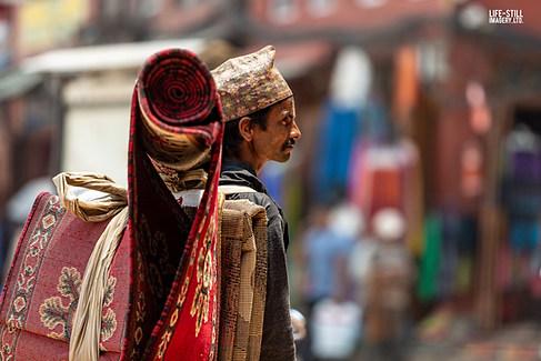 """The Carpet Seller"" Kathmandu, Nepal (2019)"
