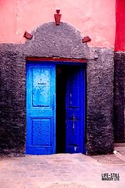 """""""The Blue Door"""" Casablanca, Morocco (2017)"""