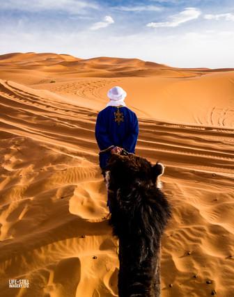 """At the Edge of the Sahara"" Merzouga, Morocco (2017)"