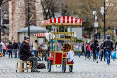 """The Bread Seller"" Istanbul, Turkey (2019)"