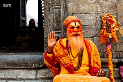 """The Technicolor Sage"" Kathmandu, Nepal (2019)"