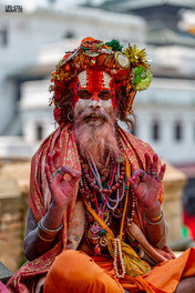"""The Hallucinogenic Sadhu"" Kathmandu, Nepal (2019)"