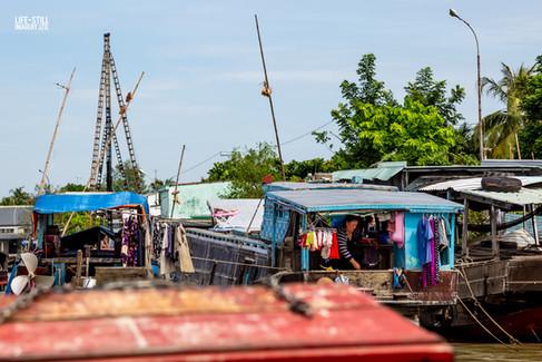 """Houseboat"" Cái Bè, Vietnam (2018)"