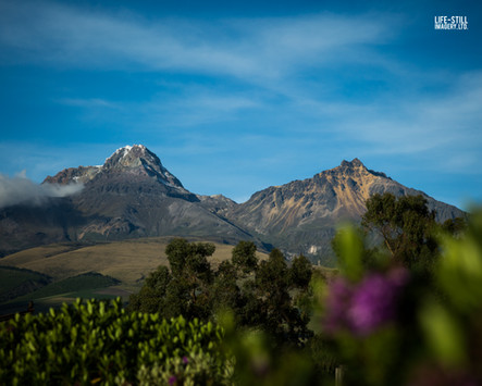 """The Twins"" Illiniza Ecological Reserve, Pichincha, Ecuador (2018)"