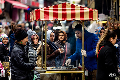 """""""Chestnuts for Sale"""" (Istanbul, Turkey (2019)"""