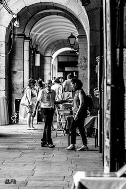 """""""The Smiling Waiter"""" Madrid, Spain (2019)"""