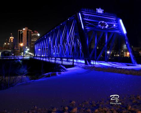 Fort Wayne at Night