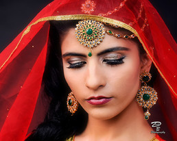 Traditional Indian, greenville portrait photographer