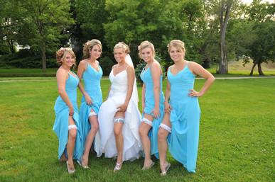 the ladies wedding pictures