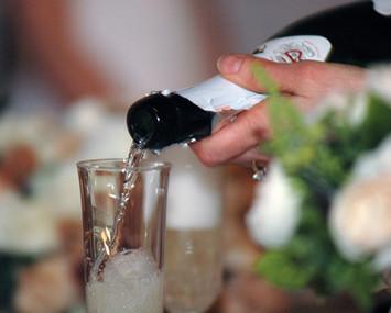 The wedding toast