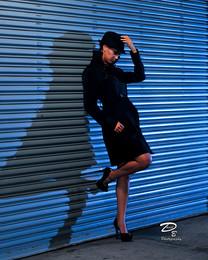 fashion at night,portrait photographer