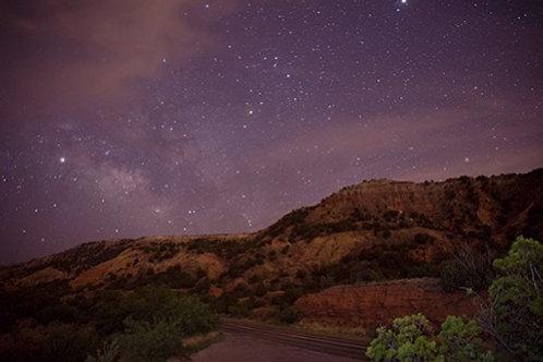 Palo Duro at night