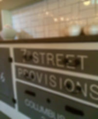 7th Street Provisions dining room