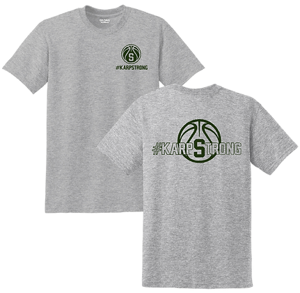#KarpStrong- Sport Grey- YOUTH T-Shirt, SM-XL