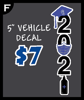 """CLS 5"""" Decal"""