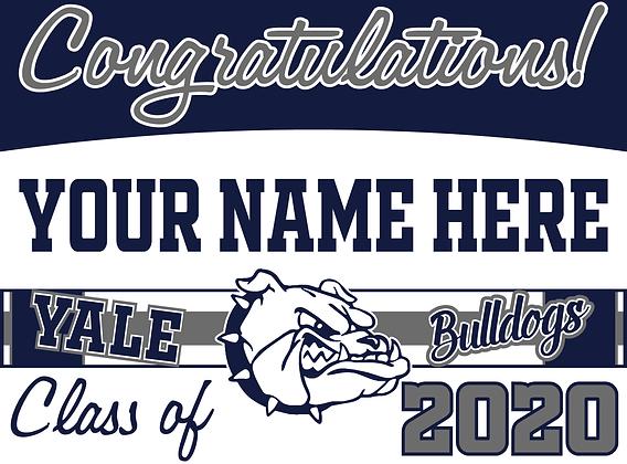 Yale 2020 Grad- Name