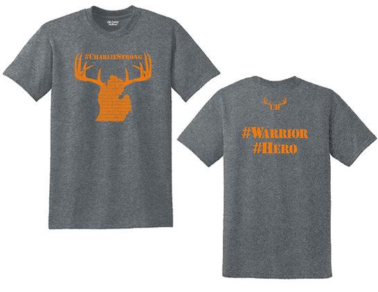 #CD- Adult T-Shirt, Dk Htr, SM-XL