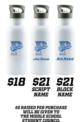 CLSC- Stainless Steel Water Bottle