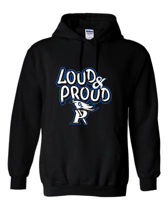 CL- Loud &Proud-Youth Hoodie-Black