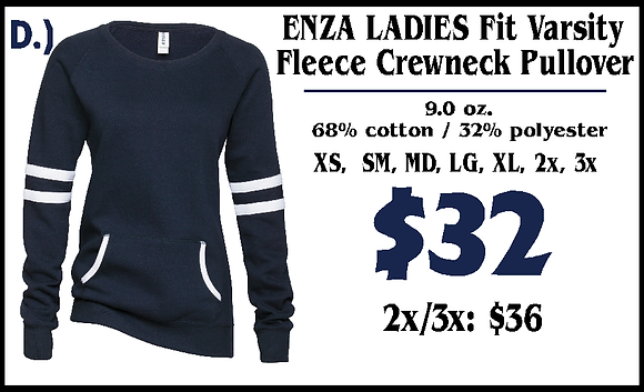 JM- Enza Ladies Fleece (D)