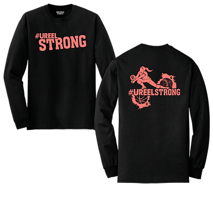 #UreelStrong- Adult Long Sleeve, 2x-3x (BC)