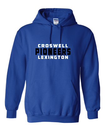 CL- Stacked-Youth Hoodie-Royal