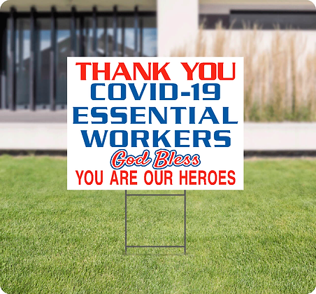 Thank you- Essential Sign