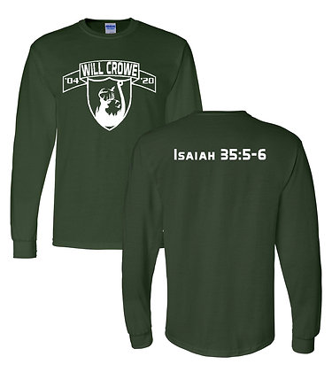 Crowe- Forest Green-Long Sleeve