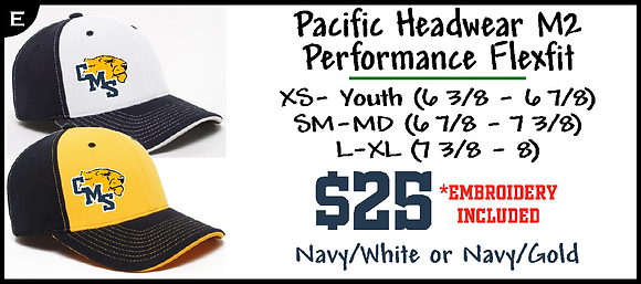 CMS- Pacific Headwear M2 Flexfit Cap