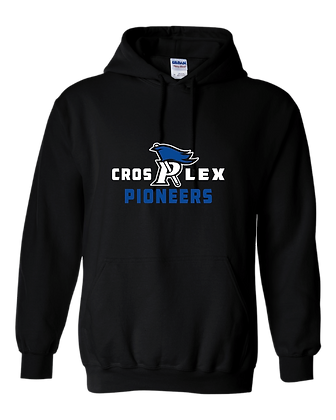 CL- Cros P Lex-Youth Hoodie-Black