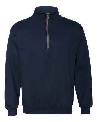 YS - Navy Cadet Collar Pullover Embroidered