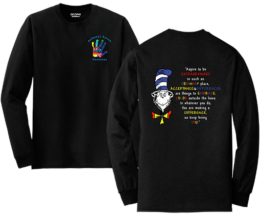 A- Long Sleeve, YOUTH