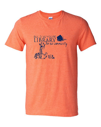 ML- Adult T-shirt- Heather Orange