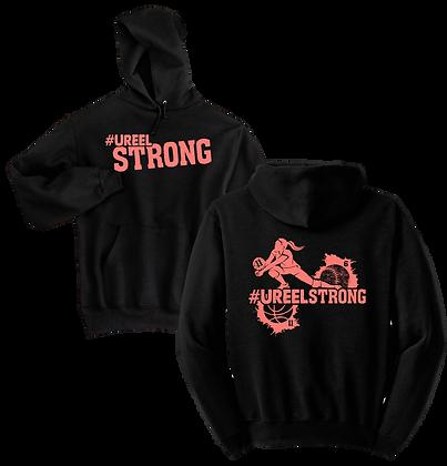 #UreelStrong- Adult Hoodie Sm-X (BC)