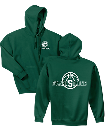 #KarpStrong- Forest Green- Adult Hoodie, Sm-Xl