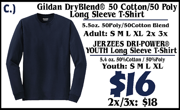 JM- Youth Long Sleeve (C)