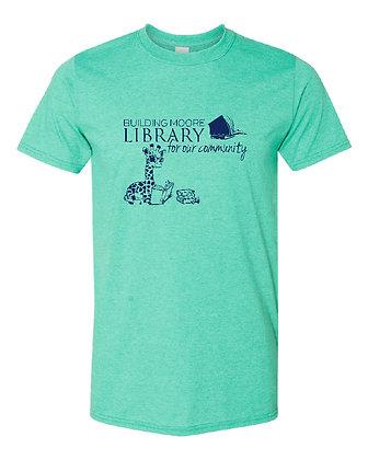 ML- Adult T-shirt- Heather Seafoam