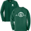 Thumbnail: #KarpStrong- Forest Green- Adult LS T-Shirt, 2x-3x