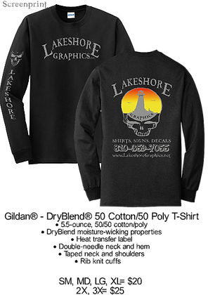 LSG- Adult Long Sleeve- SM-XL