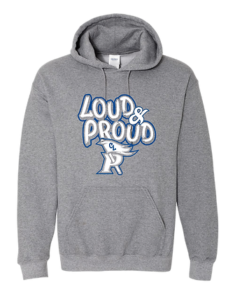 CL- Loud&Proud-Youth Hoodie-Graphite
