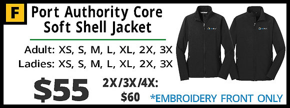 BWROC Port Authority Core Soft Shell