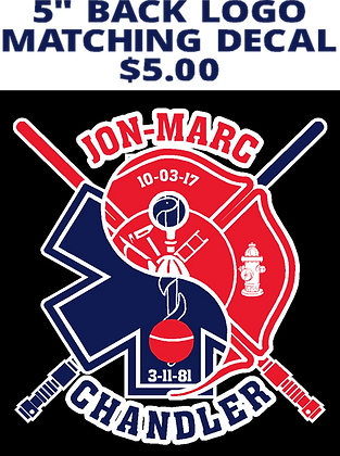"JM- 5 "" Decal"