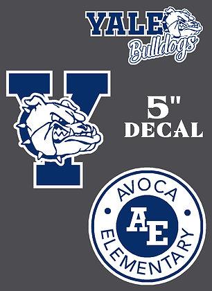 """YS - 5"""" Logo Decal"""