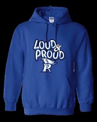 CL- Loud&Proud-Youth Hoodie-Royal
