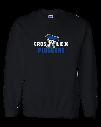 CL- Cros P Lex-Adult Crewneck-Black