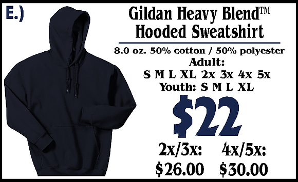 JM- Youth Hooded Sweatshirt (E)